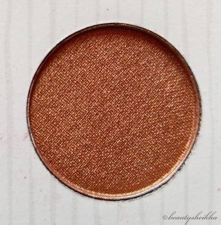 Copper-Bronze shimmer